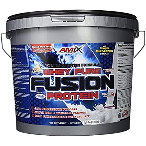 Amix Whey Pure Fusion Nutrition Proteine - 4000 gr