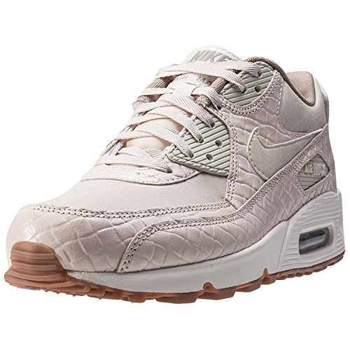 nike womens air max 90 PREM trainers 443817 sneakers shoes (uk 5 us 7.5 eu 38.5, Beige 105)