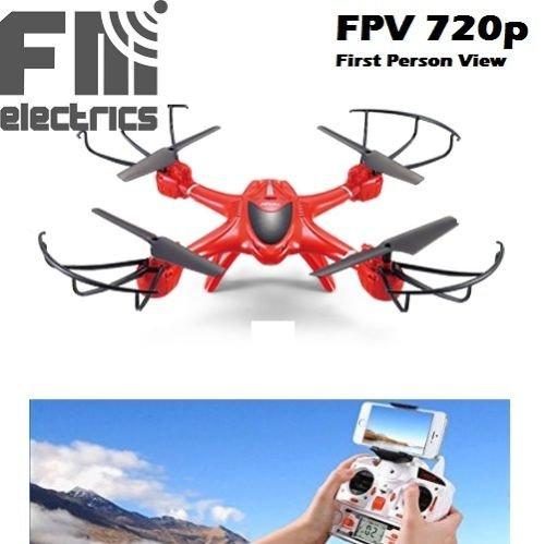 Preisvergleich Produktbild MJX X400 Drone mit HD Kamera von FM-electrics   XXL - Drohne mit Kamera, mit Wifi FPV Kamera in HD und riesen Reichweite, Mit Headless-Mode und One-Key Return, Sonderedition mit Fernsteuerung für Mode 1-4, Looping-Funktion, mit C4010 Wlan Kamera in HD