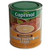 Cuprinol® Hardwood Garden Wood Furniture Stain Paint Colour Shades Treatment CLEAR 750ml New