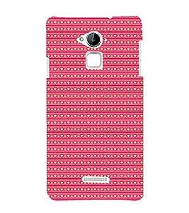 Love Symbols Pattern 3D Hard Polycarbonate Designer Back Case Cover for Coolpad Note 3