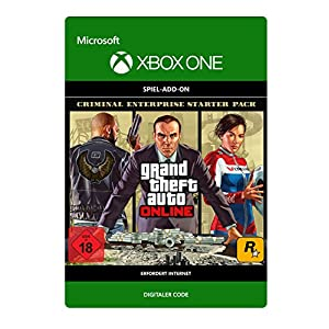 Grand Theft Auto V: Criminal Enterprise Starter Pack DLC | Xbox One – Download Code
