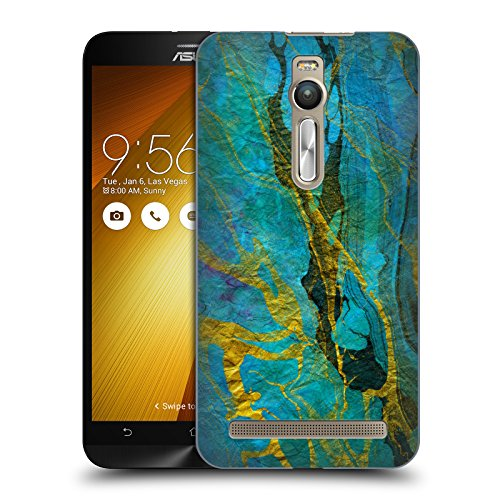 official-haroulita-yellow-teal-marble-hard-back-case-for-zenfone-2-deluxe