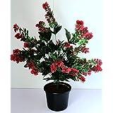 شجرة ورد ونبات وزرع صناعي 75 سم
