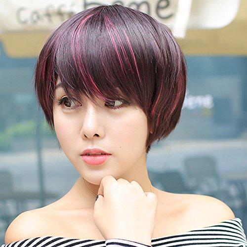 gradienti-femminili-brevi-capelli-lisci-mette-in-evidenza-il-bob-falso-capelli-a