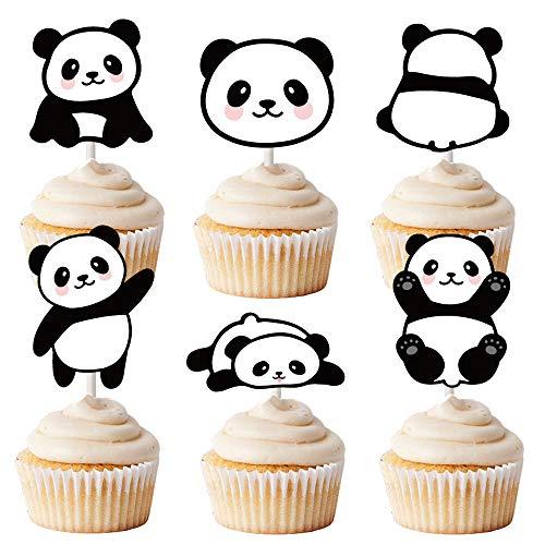 pcake-Topper 3,8 cm L x 3,8 cm H Dekoration für Kuchen, Cupcakes und EIS ()