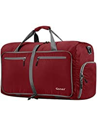 Gonex - Bolsa de Equipaje/Viaje de Duffel Plegable Impermeable y Resistente 60L Travel Bag para Viaje/Deporte