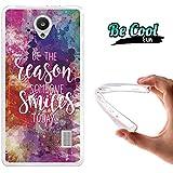 Becool® Fun - Funda Gel Flexible para Huawei Y635 .Carcasa TPU fabricada con la mejor Silicona , protege y se adapta a la perfección a tu Smartphone y con nuestro diseño Razón para sonreír
