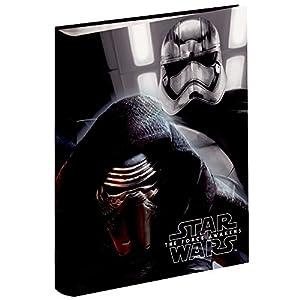 Star Wars Carpeta con 40 Anillas 4D (Montichelvo 53204) 11