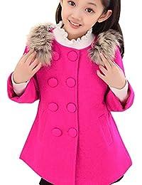 Amurleopard Trench coat manteau fille double boutonnage manche longue