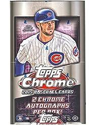 2015Topps Chrome MLB Baseball Hobby Box