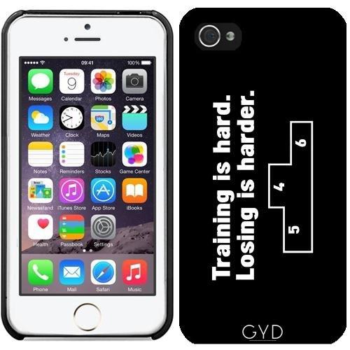 Custodia in silicone per Iphone 7 / Iphone 8 - Perdere è Più Difficile by wamdesign Plastica rigida