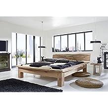 lit bois massif 160. Black Bedroom Furniture Sets. Home Design Ideas