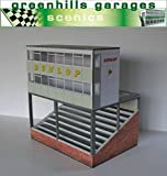 Greenhills Scalextric Slot Car Building Silverstone Control Tower Kit 1:43 Scale MACC350