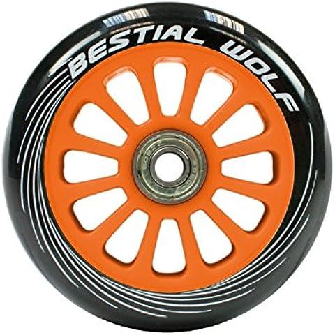 Rueda para Patinete Scooter Naranja de 100mm (una unidad) - Wheel