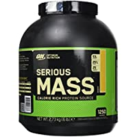 OPTIMUM NUTRITION Serious Mass Protéine Banane 2.72 kg