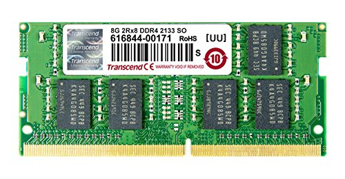Transcend TS1GSH64V1H Speichermodul 8GB DDR4 2133 SO-DIMM 2Rx8 512Mx8 CL15 1.2V