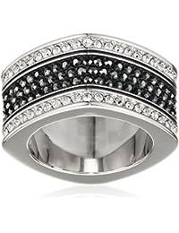Swarovski anillos Mujer plata cristal