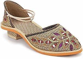 Indcrown Rajasthani Ethnic Women's Sandal …