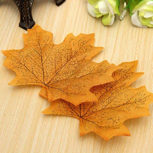 Generic yanhong-uk3-151124-2071yh5658yh tume Konfetti Hochzeit Favor ecoration C 50Ahorn Fall 50Ahorn Dekor Craft S Leaf Wir Autumn Leaves Leaf L Herbst Kostüm (Herbst Kostüme)