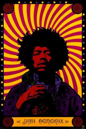Empire 213044 Poster psichedelico Jimi Hendrix, ca. 91,5x61 cm