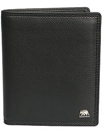 Brown Bear Geldbörse Hochformat Leder schwarz BBCL 8001 bk