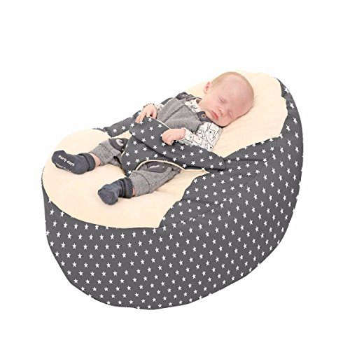 Brilliant Rucomfy Luxury Cuddle Soft Stars Gaga Baby Bean Bag Machost Co Dining Chair Design Ideas Machostcouk