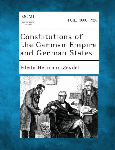 Constitutions of the German Empire and German States