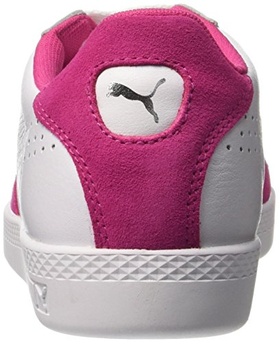 Puma Match Lo Basic Sports, Baskets Basses Femme Blanc (White/Purple 20)