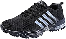 wealsex Chaussures Sports Running Course Fitness Gym Athlétique Baskets Sneakers Air Chaussures Amorti Homme ...