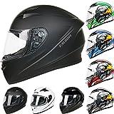 Best Motorcycle Helmets - Leopard LEO-817 Full Face Motorcycle Motorbike Helmet ECER Review