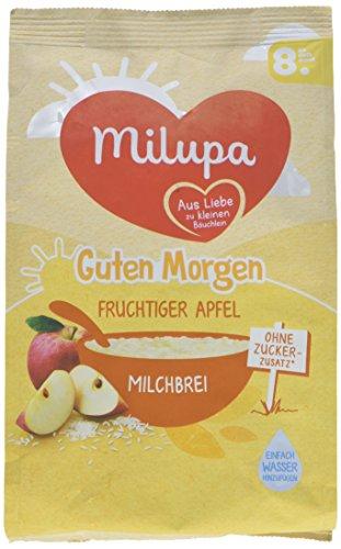 Milupa Guten Morgen Milchbrei Fruchtiger Apfel, 5er Pack (5 x 400 g) (Gut Und Fruchtig)