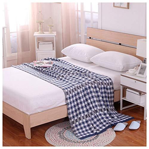 CYDPTZ Gestrickte Decke wirft Baumwolle im britischen Stil Sofa Abdeckung leichte Freizeit Sofa Nickerchen Quilt geeignet für Home Office Reisebett Weiche Decken (größe : 120 * 180cm)