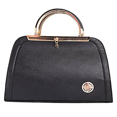 Louise Belgium Designer Hand-held Bag for Women - Maroon