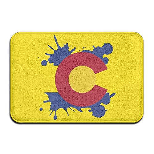 Colorado State Flagge Home Fußmatte Fußmatte 4060rutschfest