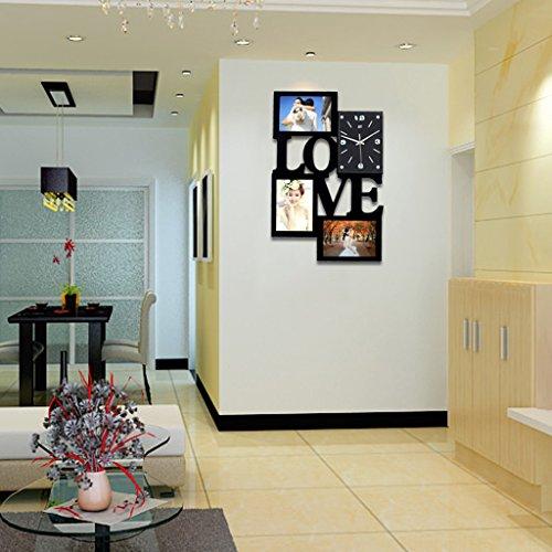 Cadres photo Combinaison élégante de chambre à coucher couloir couloir Porche Salle à manger Creative Wall Photo Cadre photo mural Cadre photo de famille pour galerie murale Couleur : C Cuisine & Maison