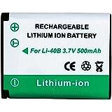 Conrad 251155 Lithium-Ion 500mAh 3.7V batterie rechargeable - batteries rechargeables (500 mAh, Lithium-Ion (Li-Ion), 3,7 V, Noir, 1 pièce(s))