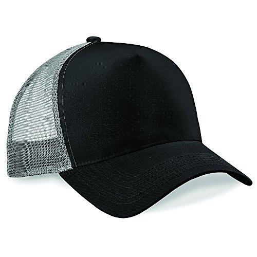 Beechfield - Casquette de Baseball - Homme Noir - Black/ Light Grey