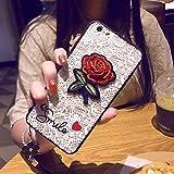 OCHENG Cas de téléphone Portable de Fleur Rose Iphone6plus Creative IPhone6splus...