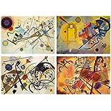 Set 4 Tovagliette Kandinsky