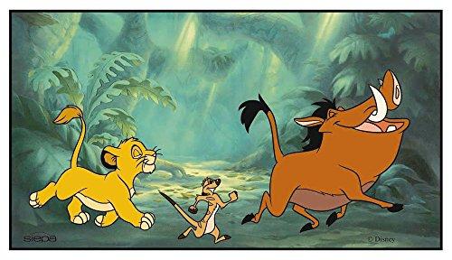 Preisvergleich Produktbild Disney 32624 Sonnenschutz für die Heckscheibe, 90cmx50cm, Motiv: König der Löwen