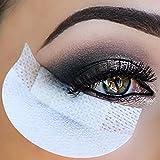 Moresave 20 Stück / Pack Lidschatten Schild Schutzkissen Schild Lippen Augen Anwendung Bilden Werkzeug