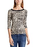 Marc Cain Collections Damen T-Shirts, Braun (Sisal 617), 46