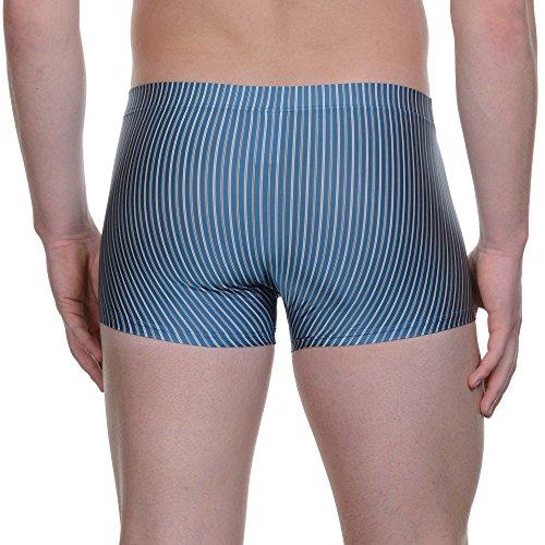 bruno banani Herren Short Suit Blau (Blau Stripes 983)