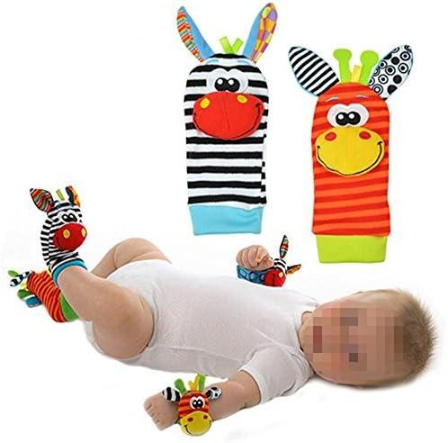 Mignon Infant enfants Pied de bébé Chaussettes Hochets Finders Gant Jouets DevelopHommes ta | Boutique En Ligne