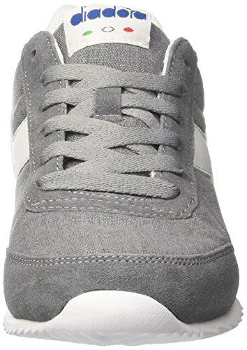 Diadora Jog Light C, Sneaker Bas du Cou Mixte Adulte Gris (Grigio Ghiaccio)