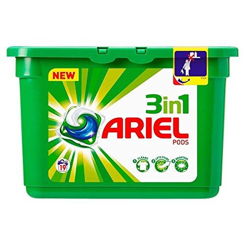 Preisvergleich Produktbild Ariel 3in1 Pods Regular - 19 Waschanlagen (19) - Packung mit 6 (4er Set)