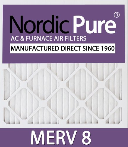 20x16x1 Ofen-filter (Nordic Pure 10 x 16 x 1customm8–6 Merv 8 AC Ofen Filter, 6 Stück)