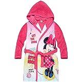 Disney Minnie Chicas Bata de baño con capucha Coral fleece 2016 Collection - fucsia