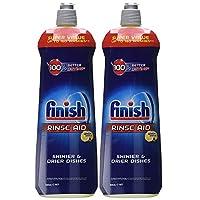 Finish Dishwasher Rinse aid Lemon 800ml Pack Of 2